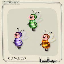 CU Vol. 287 Bees by Lemur Designs #CUdigitals cudigitals.com cu commercial digital scrap #digiscrap scrapbook graphics