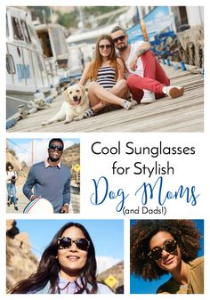 Win Cool Sunglasses for Stylish Dog Moms (and Dads) from Warby Parker | http://www.thelazypitbull.com/cool-sunglasses-stylish-dog-moms/