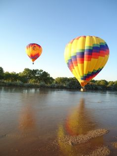 Rainbow Ryders Inc. hanging out over the Rio Grande.     www.rainbowryders.com