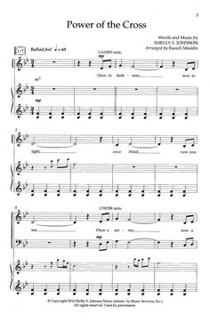 Power of the Cross (SATB ) by Shelly E. John | J.W. Pepper Sheet Music