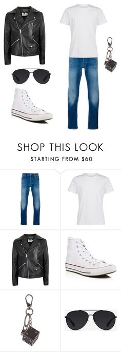 """Grease Lighting"" by missheru ❤ liked on Polyvore featuring STONE ISLAND, La Perla, Topman, Converse, Tod's and Bally"