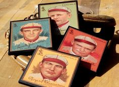 Hey, I found this really awesome Etsy listing at https://www.etsy.com/listing/74550025/coaster-set-st-louis-cardinals-baseball