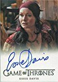 #9: Game of Thrones Season 6 Autograph Card Essie Davis as Lady Crane (Full Bleed)