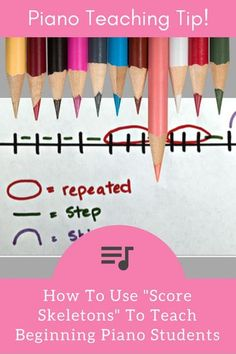 Using Doodles To Help Students Identify Steps, Skips, Leaps and Repeating Notes | Teach Piano Today