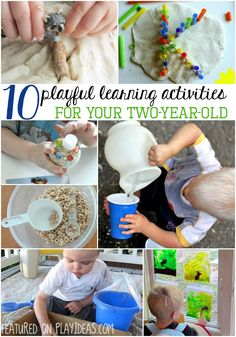 playful learning activities for your two year old