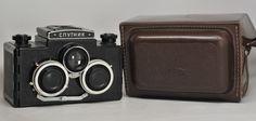 Vintage Soviet LOMO Sputnik 3D Stereo Camera