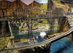 Spans: Northlandz boasts some 400 bridges for its model trains to cross