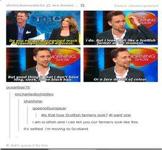 I'm moving to Scotland too.