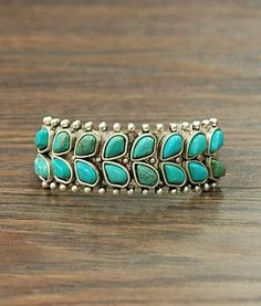 Natural Turquoise Stone Cuff Bracelet Natural Stone Natural Stone May Very In Color Cuff Style 55 Grams In Weight Antique Silver Plate Bracelet Nickel, Lead Free Jewelry Art, Jewelry Design, Unique Jewelry, Silver Jewelry, Jewelry Ideas, Silver Earrings, Vintage Turquoise Jewelry, Turquoise Bracelet, Turquoise Jewellery