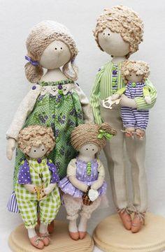 куклы семья