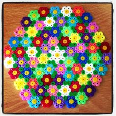 Spring coaster hama beads by tutluva