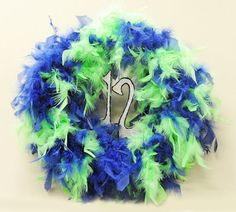 12th Man Wreath #Football #Seahawks