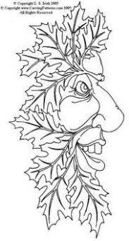 Image result for Wood Spirit Patterns Free Printable