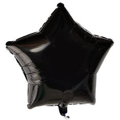 Black star foil balloons are an elegant touch to any celebration… or a whimsical addition to over-the-hill parties and Halloween haunts! Add to a flower arrangement, basket or gift... or create