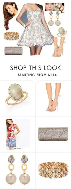 """""""Bez tytułu #16632"""" by sophies18 ❤ liked on Polyvore featuring Bloomingdale's, Schutz, True Violet, Essie, Jimmy Choo, Marni and Blue Nile"""