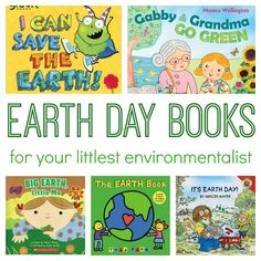 5 great books about the Earth for toddlers and preschoolers.