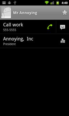 How to send annoying callers directly to voice mail on Android