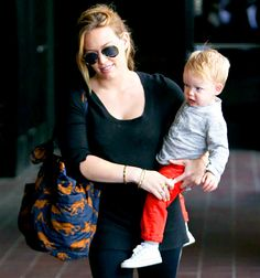 Hilary Duff says its tough going out with son Luca when shes followed by photographers