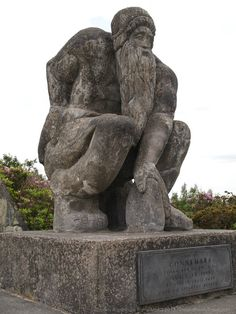 The Connemara Giant : Modern Irish Mythology It is said that you haven't truly visited Connemara until you have touched the hand of the Connemara Giant.