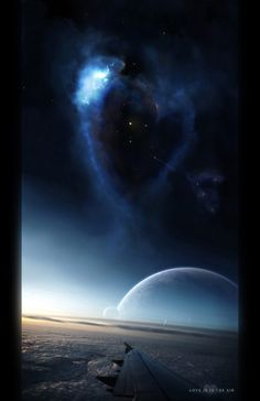 Love is in the air by gucken on DeviantArt These Broken Stars, Cute Pictures, Cool Photos, Amazing Photos, World Of Fantasy, Star Sky, Story Inspiration, What Is Love, Photo Manipulation