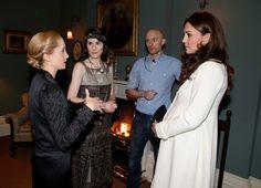 Kate Middleton in Kate Middleton Visits the 'Downton Abbey' Set