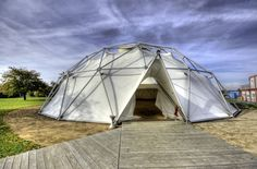Vitra Design Campus, Charter-Sphere Dome (B. Fuller)