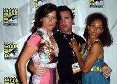 Torri Higginson, Paul McGillion, and Rachel Luttrell #SGA