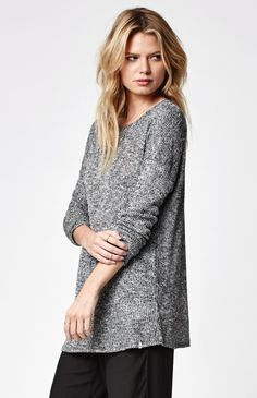 Ready To Go Ribbed Pullover Sweater