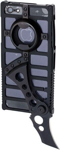 TactiCall Alpha 1 iPhone 5 Case Awesome but i don't have an iphone 5 yet. ha