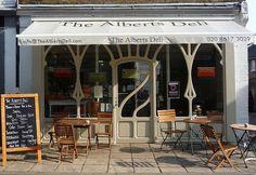 Art Nouveau Shopfront: Richmond   by curry15, via Flickr