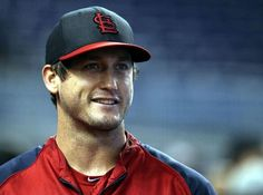 David Freese takes batting practice before a game against the Miami Marlins. 6-15-13