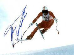 'Kaiser' Franz Klammer, most amazing Austrian skier ever.