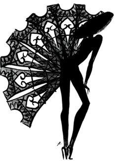 """Depuis cette semaine, La Petite Robe Noire de Guerlain complète son dressing... Une nouvelle robe longue """"cousue"""" de notes ..."""