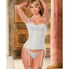 Shirley of Hollywood Women's Tapestry Corset:Amazon:Clothing