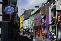 "Galway  ""Capital of Festivals, from the Arts to Oysters"" [1000 Places To See Before You Die]"