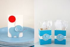 CAKE.   events + design: real parties: adorable elephant first birthday