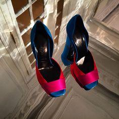 Dancing on the ceiling @hermes' A/W Paris shoe presentation #fashion