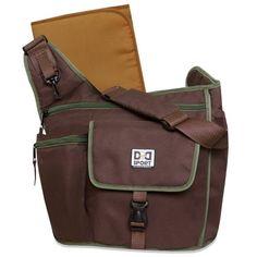Diaper Dude Sport Bag by Chris Pegula - Brown Sling Messenger Diaper Bag Boy Diaper Bags, Best Diaper Bag, Diaper Bag Backpack, Dad Baby, Baby Boy, Gender Neutral Diaper Bag, Stylish Backpacks, Trendy Baby, Baby Accessories