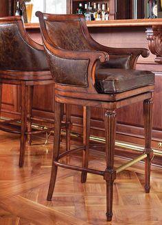 The quintessential stool for any home pub design!