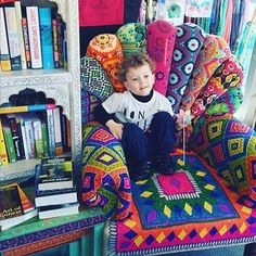 This little shopper found the best spot to relax! #regram @gemma.gill #ishka #shop #homewares #love #colour #homeinspo #inspire #beautiful #warrnambool by ishkahandcrafts