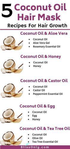 5 Best Coconut Oil Hair Mask For Hair Growth - BlissOnly