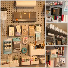 Lookie What I Did: Organizing with Pegboard