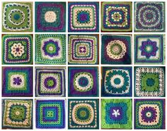Revised layout for Allison's afghan (Moogly Crochet-A-Long 2014)