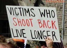 Shoot Back Live Longer