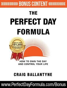 The Perfect Day Formula: How to Own the Day And Control Y... https://www.amazon.com/dp/1619613557/ref=cm_sw_r_pi_dp_x_I596yb6T6J08P