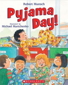 Everyone loves Pyjama Day! It''s pyjama day at school, and Andrew has brought… Pajama Day At School, Pj Day, Toys R Us Canada, Preschool Books, Preschool Winter, Day Book, Book Week, Pajama Party, Pre School