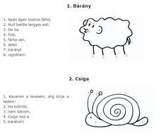 Rajzolós mondókák szülőknek, gyerekeknek | Ovonok.hu
