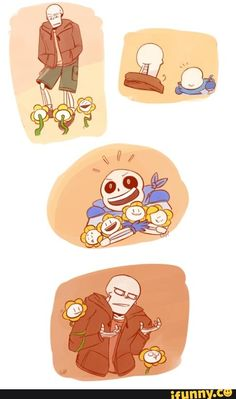 """I keep on forgetting that Flowey in the Underswap AU is good so when I saw this I was all: """"OH MY GOD SANS NO"""" but then I realized all is chill and it's okay because hey! It's freaking Underswap! Underswap Papyrus, Undertale Undertale, Undertale Cosplay, Frisk, Dbz, Sans And Papyrus, Toby Fox, Wattpad, Best Games"""