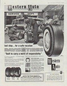 1950 hmv car radios ad cars western auto gumiabroncs Images