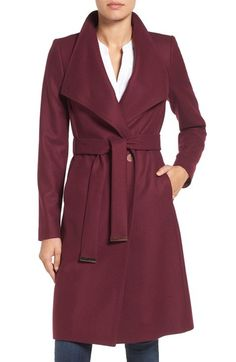 Ted Baker London Wrap Coat available at #Nordstrom                                                                                                                                                                                 More